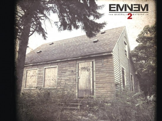 Буклет альбома Eminem The Marshall Mathers LP 2 - Standart Cover Front