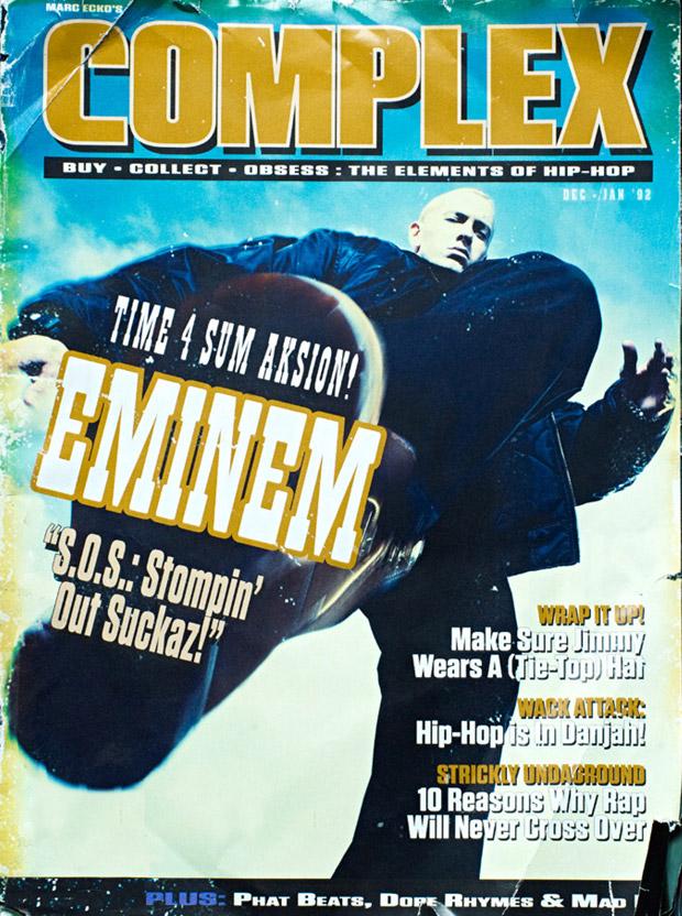 Eminem на обложке декабрьского журнала Complex