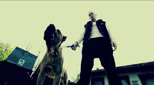Фотографии со съёмок клипа на трек Эминема Rap God 1