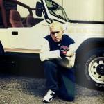 Фотографии со съёмок клипа на трек Эминема Rap God