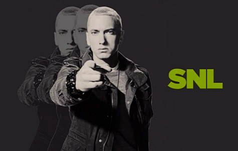 EMINEM PERFORMS ON 'SNL' WITH RICK RUBIN AND SKYLAR GREY 2013/11/03