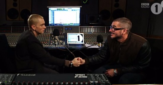 Eminem. Zane Lowe. Part 4