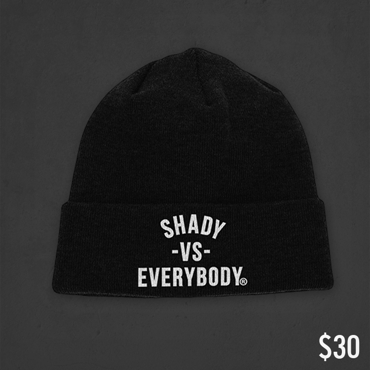2013.12.09 - Shady Vs. Everybody Cold Weather Pack