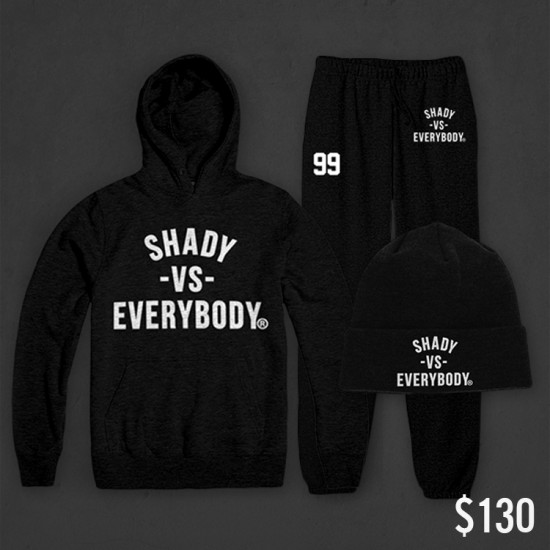 2013.12.09 - Shady Vs. Everybody Sweatshirt, Sweatpants, Beanie