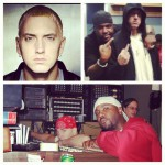 Eminem and Kuniva (D12)