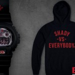 08-01-2014 3-21-11 Eminem Limited Edition Shady Records G-Shock Watch + Hoodie (Unsigned)