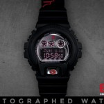 08-01-2014 3-25-13 Eminem Autographed, Limited Edition Shady Records G-Shock Watch