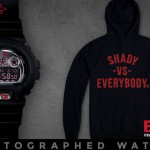 08-01-2014 3-26-41 Eminem Autographed, Limited Edition Shady Records G-Shock Watch + Hoodie