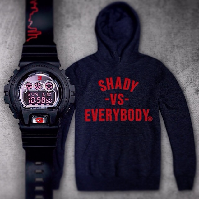 Eminem 2014.01.06 - G-Shock limited edition Paul Rosenberg