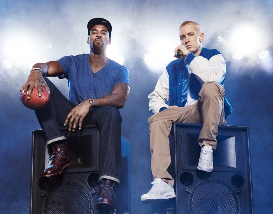 Cover Eminem The Music Issue ESPN Magazine - копия