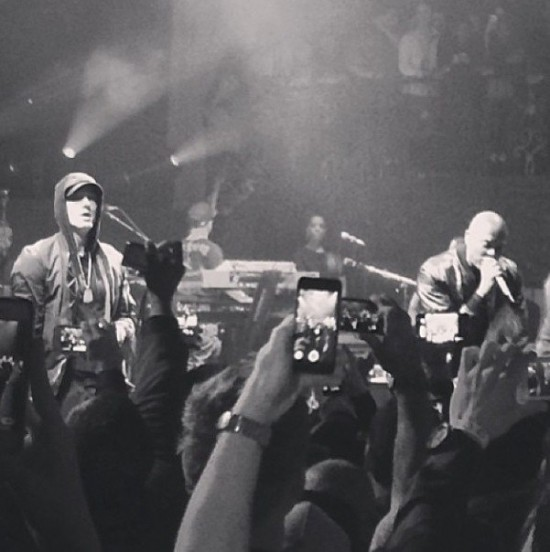 Dr. Dre и Eminem выступили на шоу Beats Music в Лос-Анджелесе