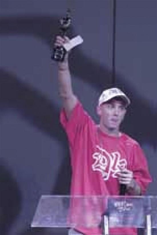 Eminem, BRITS 2001 2