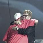 Eminem, Elton John, BRITS 2001
