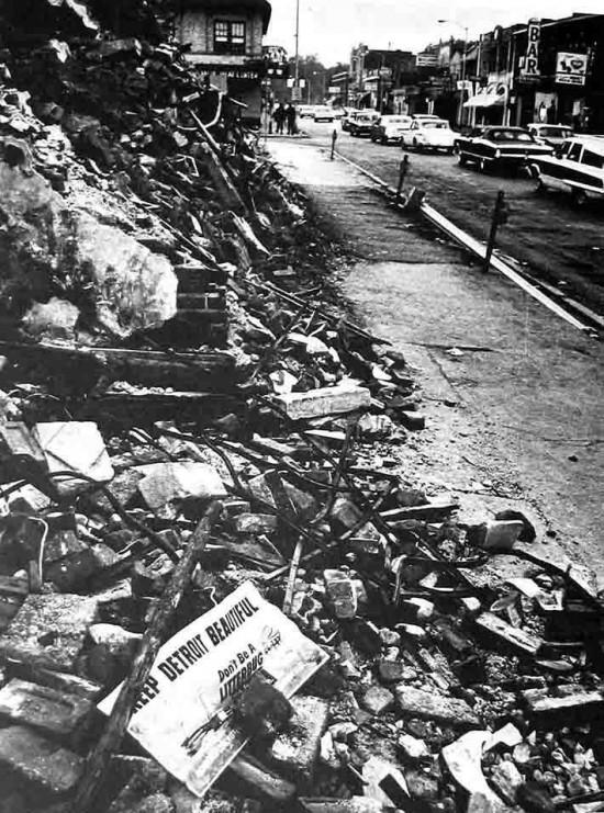 Детройт летом 1967 года. Взлёт и падение Детройта Detroit 37