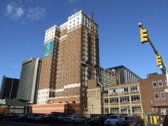 Fort Shelby Hotel после реставрации 2008 года. Взлёт и падение Детройта Detroit 59