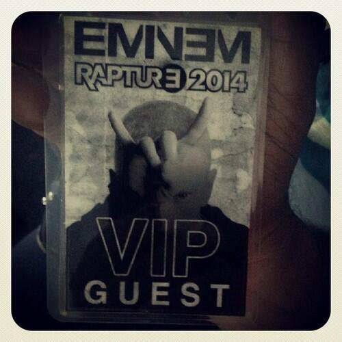 2014.02.15 - 01 Rosenberg расписание концерта в Эминема в Новой Зеландии