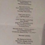 2014.02.14 - 12 Rapture 2014 Трек-лист Eminem