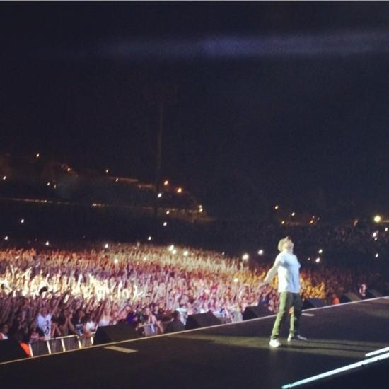 2014.02.15 - 16 Rapture 2014 Eminem конец концерта