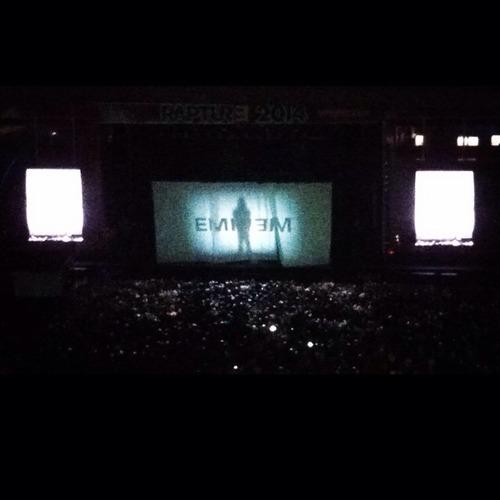 2014.02.20 - 11 Brisbane Australia, Rapture 2014 Suncorp Stadium Eminem
