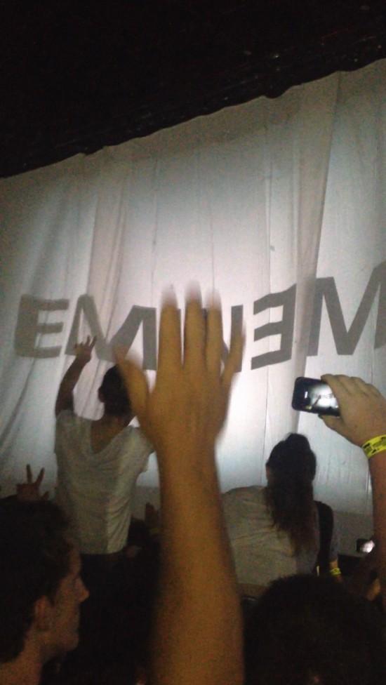 2014.02.20 - 13 Brisbane Australia, Rapture 2014 Suncorp Stadium Eminem