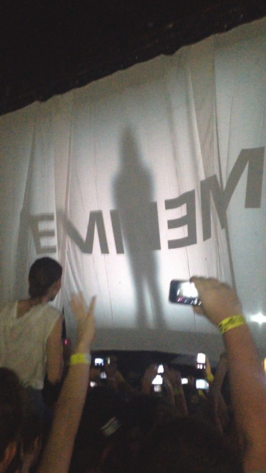 2014.02.20 - 15 Brisbane Australia, Rapture 2014 Suncorp Stadium Eminem