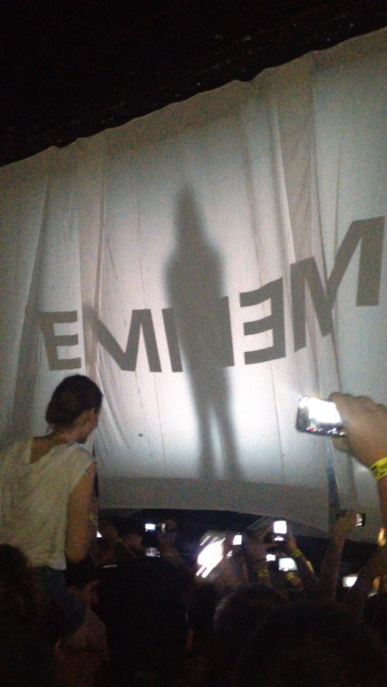2014.02.20 - 16 Brisbane Australia, Rapture 2014 Suncorp Stadium Eminem