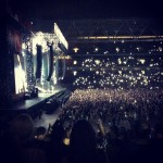 Brisbane Australia, Rapture 2014 Suncorp Stadium - 50,000 people all singing