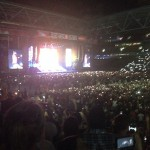 Brisbane Australia, Rapture 2014 Suncorp Stadium - Lighters- Bad meets evil