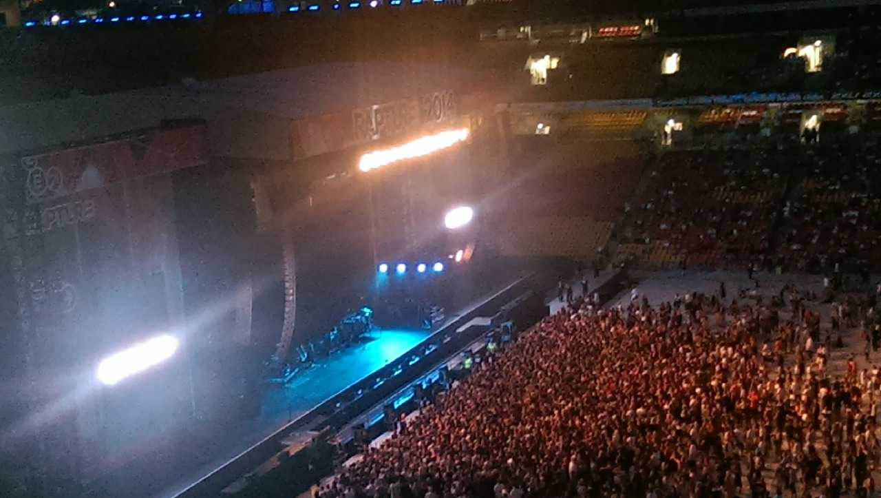 2014.02.20 - 02 Brisbane Australia, Rapture 2014 Suncorp Stadium