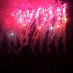 Brisbane Australia, Rapture 2014 Suncorp Stadium - Fireworks at Eminem!
