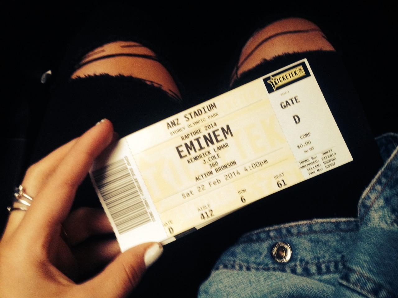 2014.02.22 - 01 - Eminem Rapture 2014 Sydney Australia, ANZ Stadium
