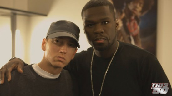 50 Cent x Eminem - Behind The Scenes At The American Music Awards 2009