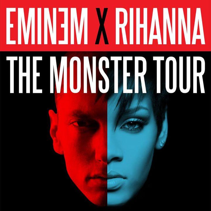 Comerica Park - Eminem and Rihanna The Monster Tour