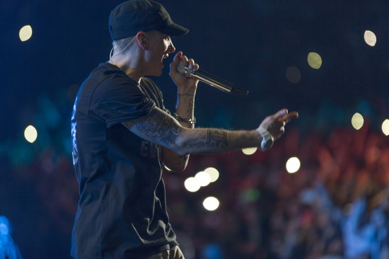 2014.03.29 - Eminem at Johannesburg, South Africa