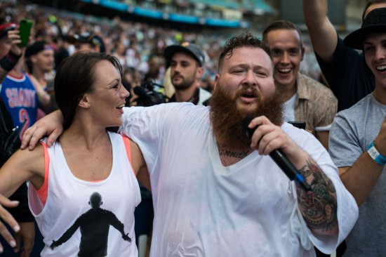 Rapture 2014 – ANZ Stadium, Sydney 22.02.14 Action Bronson