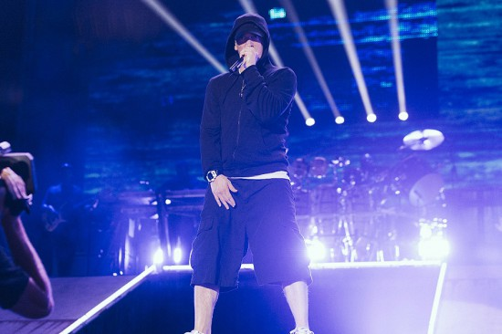 Eminem Rapture 2014 Brisbane Suncorp Stadium