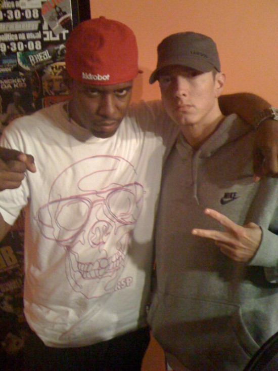 Eminem и DJ Whoo Kid на Shade 45