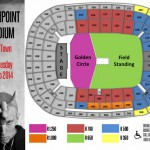 Eminem Rapture 2014 Cape Town 26.02.2014 03 Схема Стадиона