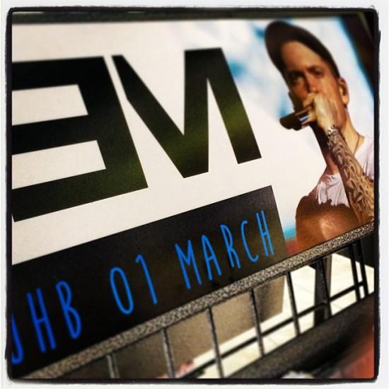 Eminem Rapture 2014 Johannesburg 01.03.2014 Реклама