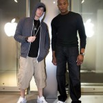 Jeremy Deputat 2012.08.16 - Eminem & Dre in Tokyo at the Apple Ginza store.