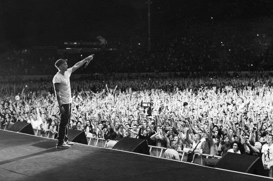 Jeremy Deputat 2014.02.15 - Eminem destroyed Auckland last night. 55,000+ sold out
