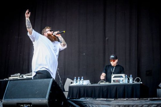 Rapture 2014 Auckland Action Bronson
