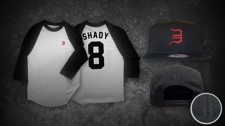 2014.04.01 - Eminem Opening Day Bundle (Snapback Hat + Baseball Tee)