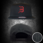 2014.04.01 For 2014, the Detroit Tribute hat series continues in a limited edition MMLP2 colorway, featuring a subtle surprise on the back. After they're gone, they won't be back!