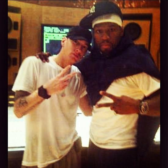 2014.04.05 - 50 Cent отблагодарил Eminem - Он дал мне толчок