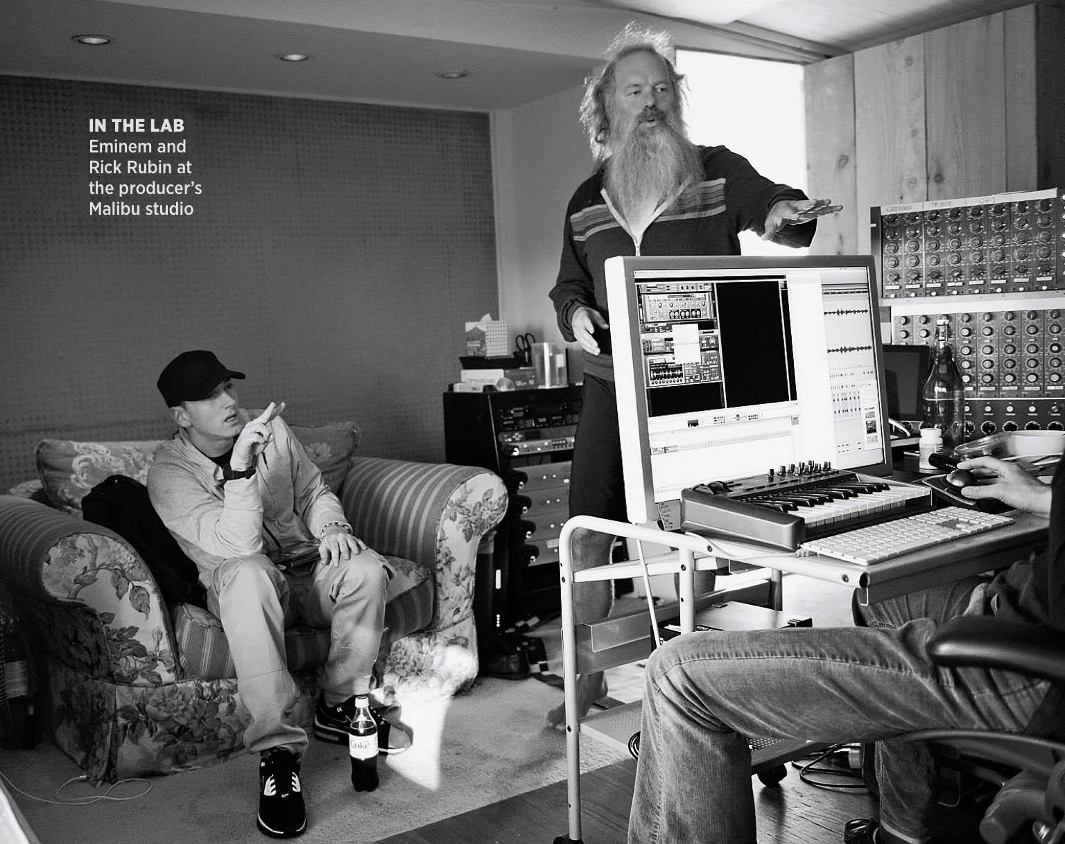 Eminem и Rick Rubin работают над альбомом MMLP2