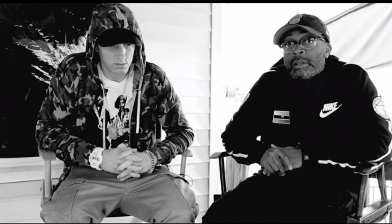 2014.05.10 - Spike Lee Talks Eminem Headlights Video