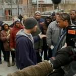 Eminem и режиссёр Кёртис Хэнсон - Восьмая Миля 8 Mile - Съёмки