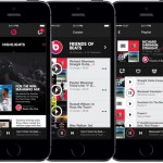 Приложение Beats Music на телефоне Apple iPhone