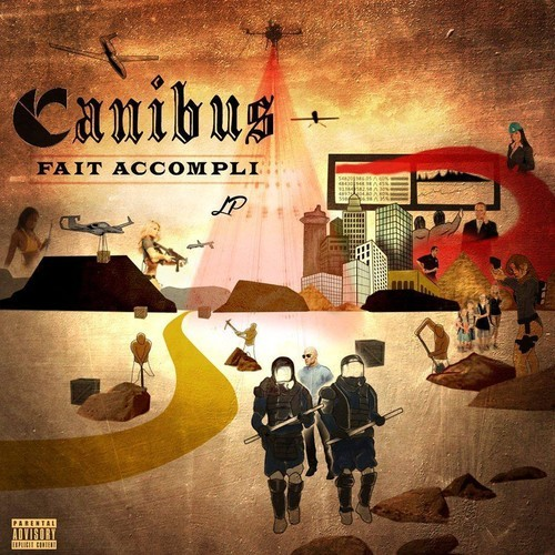2014.06.01 - Canibus feat Crooked I, Nino Graye and Flawless the MC Wreck Room (Produced by JP Beats)